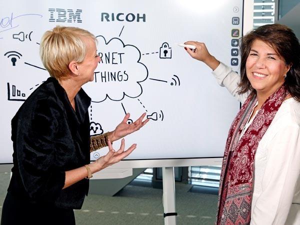 Ricoh IBM meeting partnership